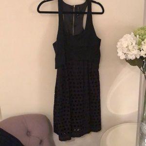 W118 by Walter Baker Black dress
